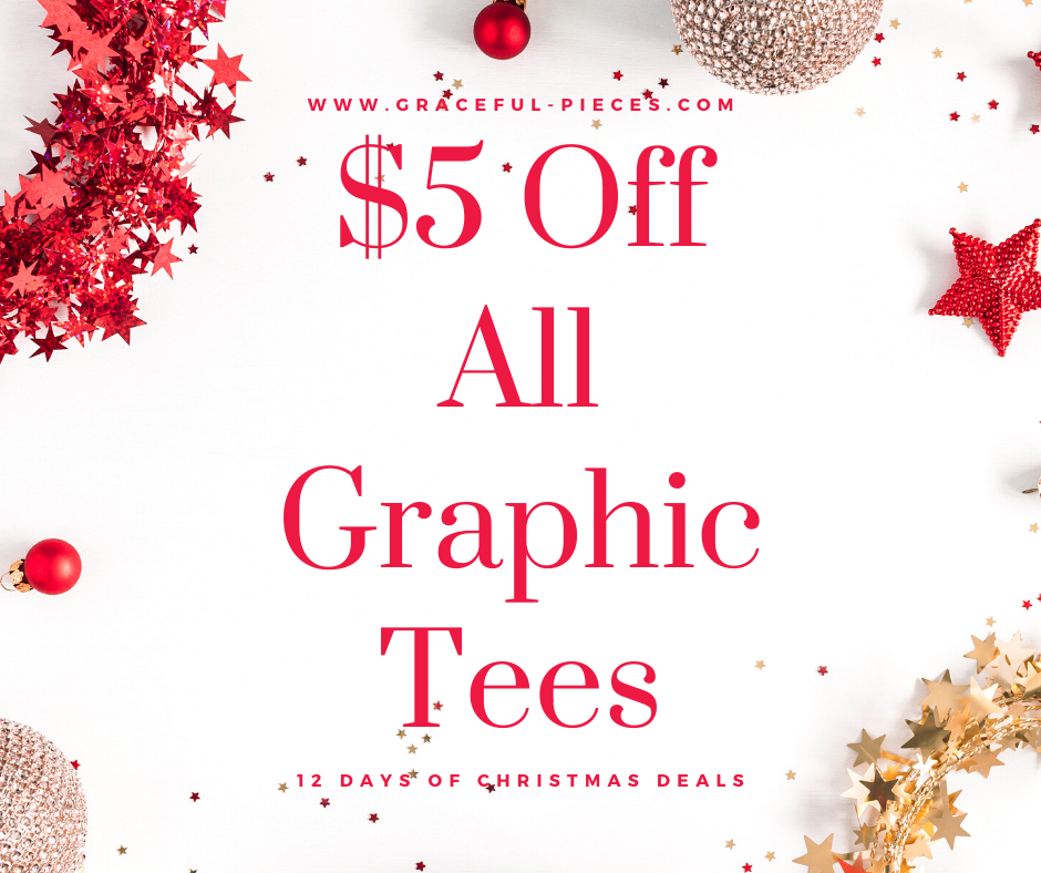 $5 off graphic tees