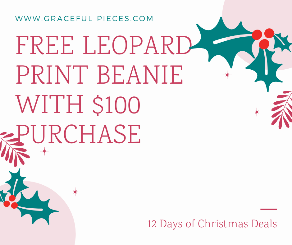 free beanie with $100 purchase